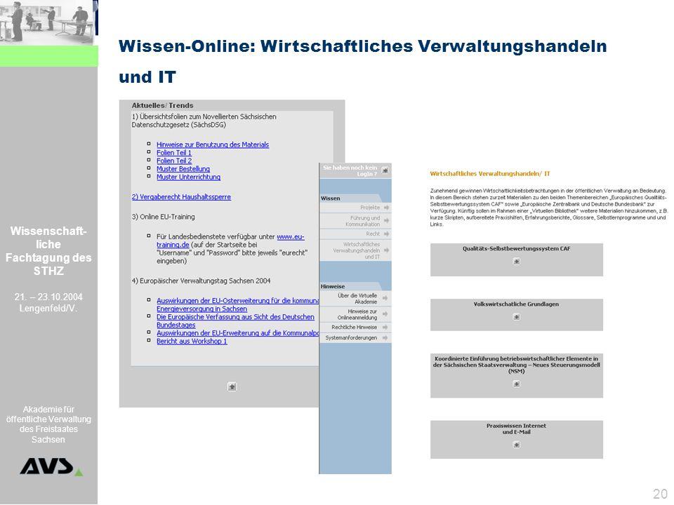 Wissen-Online: Wirtschaftliches Verwaltungshandeln
