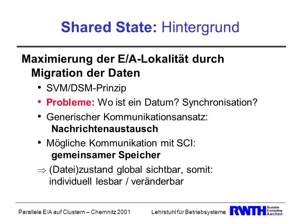 Shared State: Hintergrund