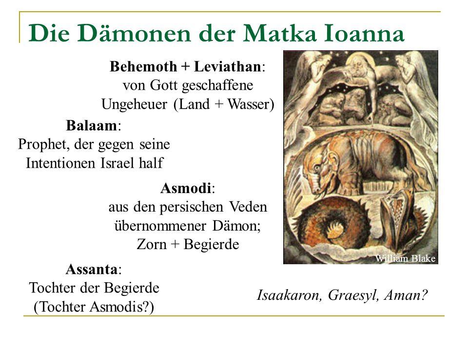 Die Dämonen der Matka Ioanna