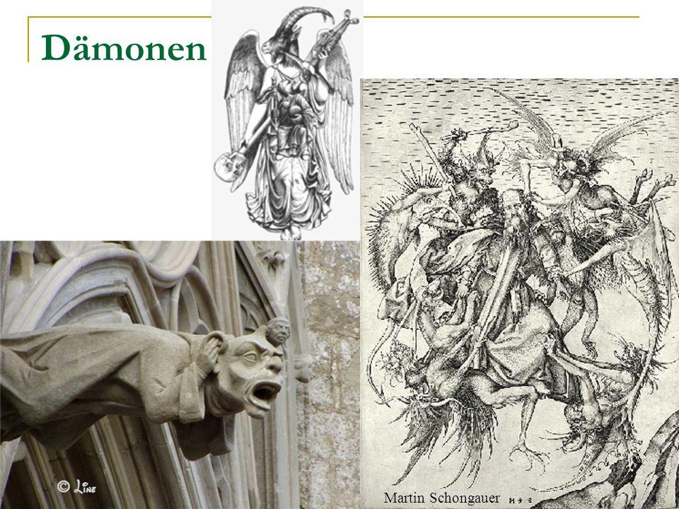 Dämonen Martin Schongauer