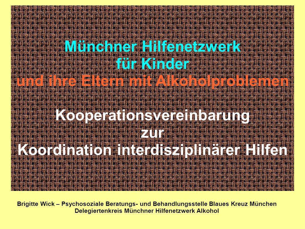 Delegiertenkreis Münchner Hilfenetzwerk Alkohol