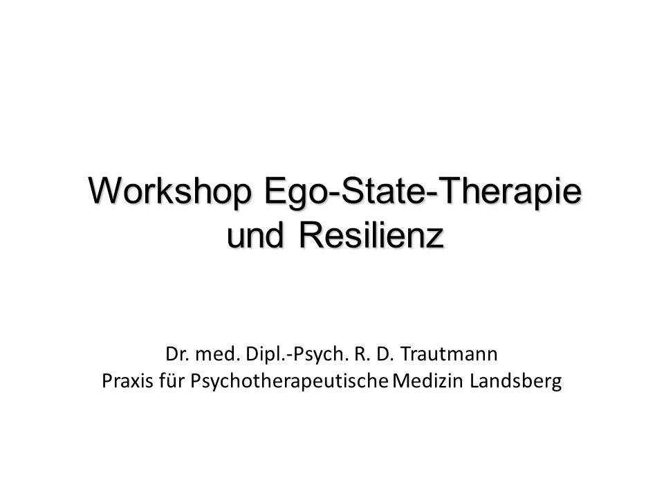 Workshop Ego-State-Therapie und Resilienz