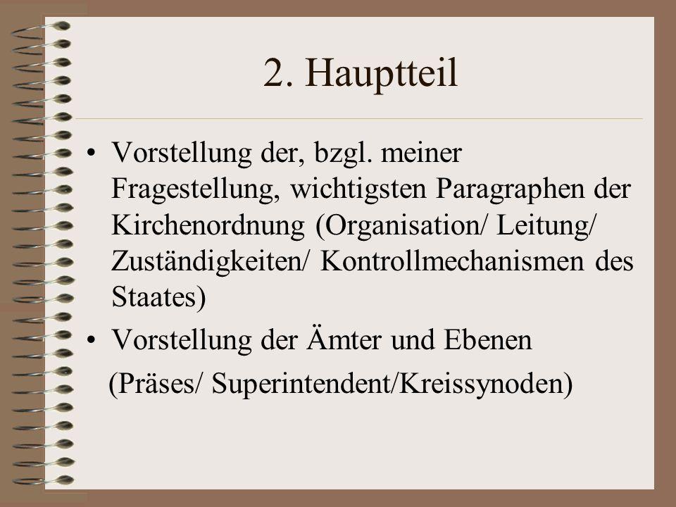 2. Hauptteil