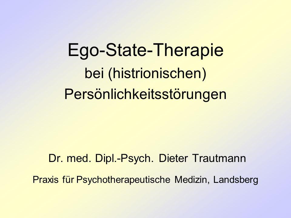 Ego-State-Therapie bei (histrionischen) Persönlichkeitsstörungen Dr