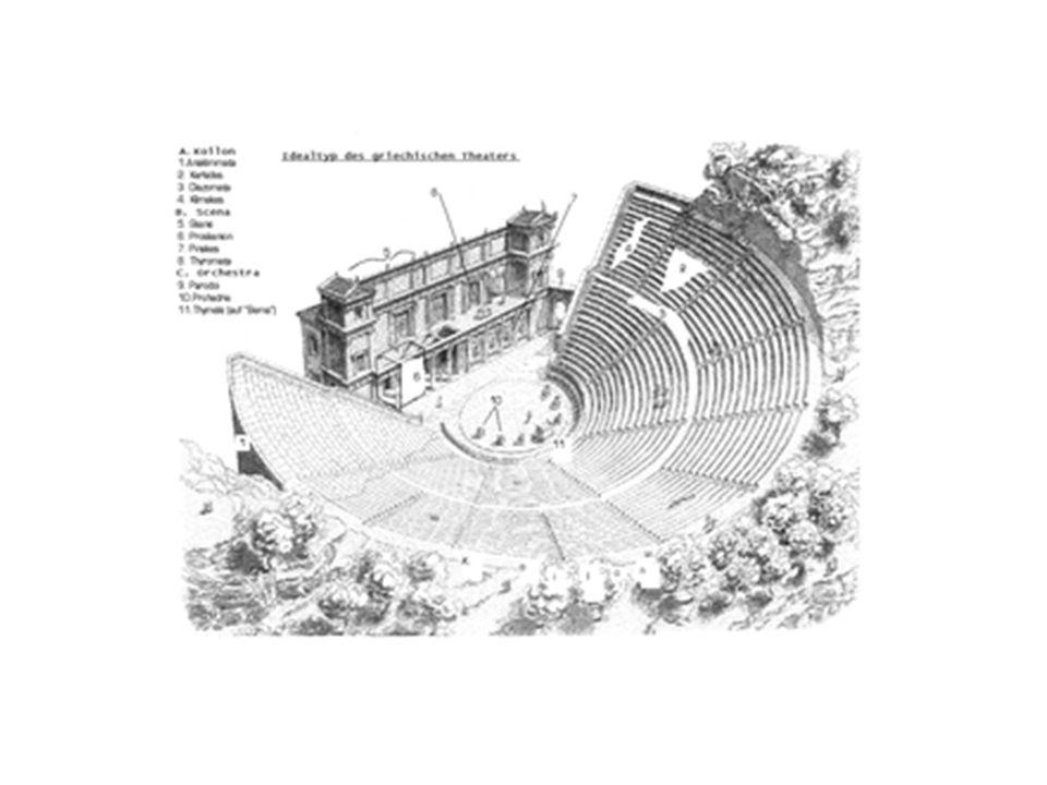 Modell Griechisches Freilufttheater