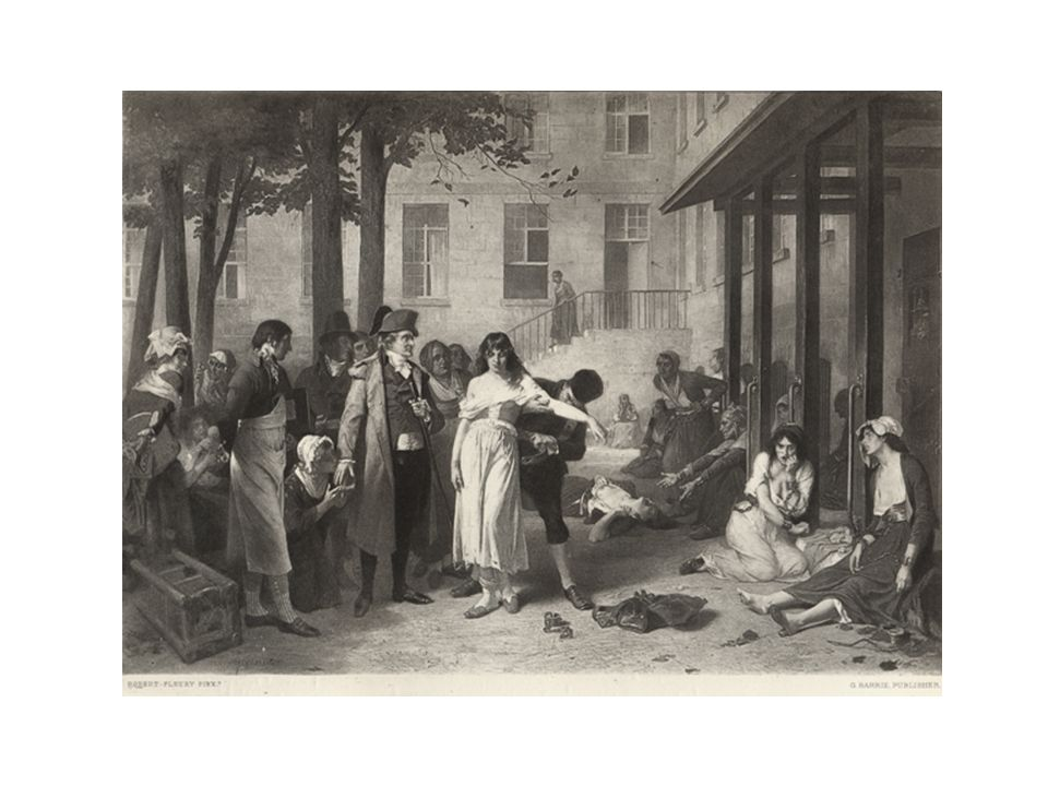 In der Salpétrière, Öl auf Leinwand, 19. Jh.