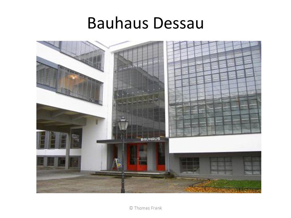 Bauhaus Dessau © Thomas Frank