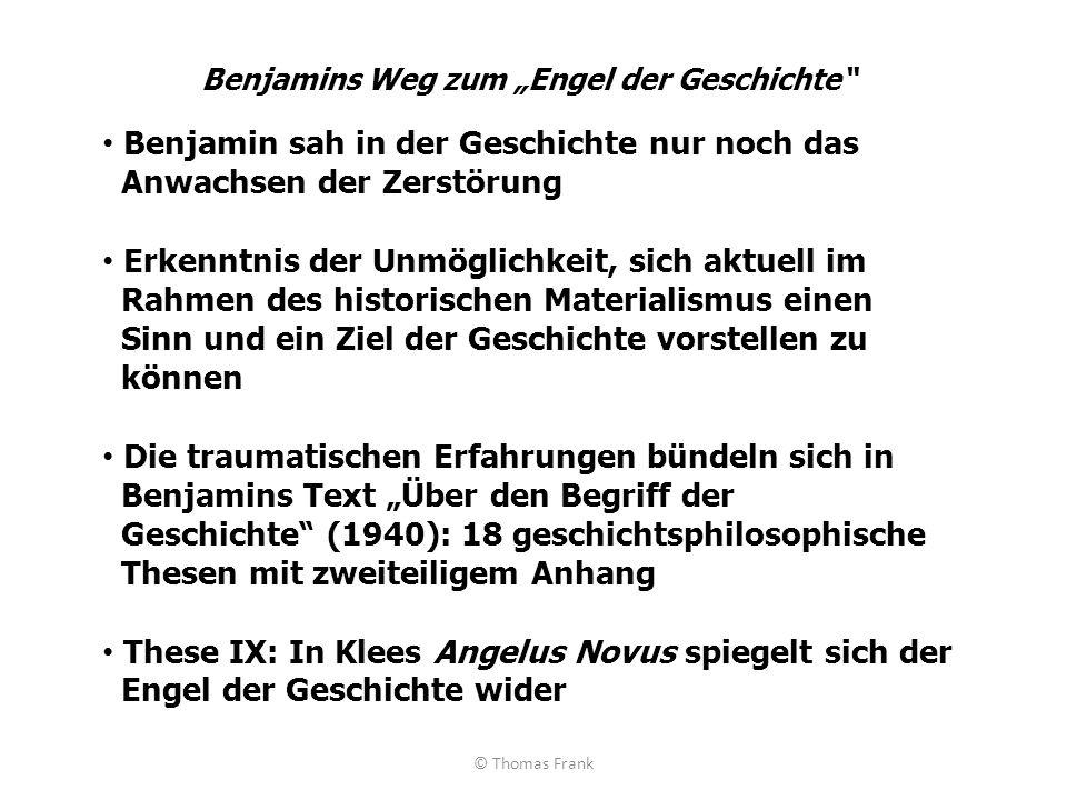 """Benjamins Weg zum """"Engel der Geschichte"""