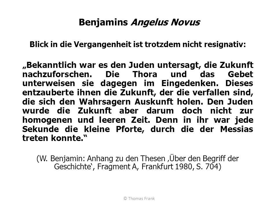 Benjamins Angelus Novus