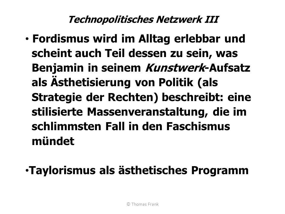 Technopolitisches Netzwerk III