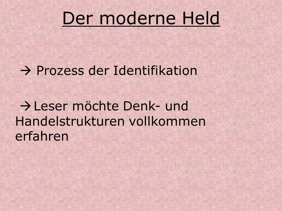 Der moderne Held  Prozess der Identifikation