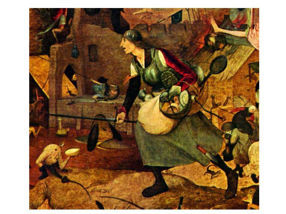 Pieter Breughel d.Ä.: Die tolle Grete (Ausschnitt)