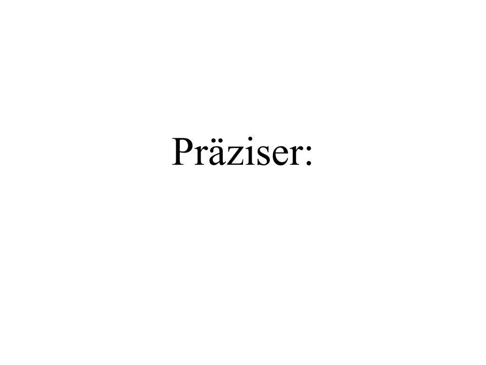 Präziser: Weiter mit PP.