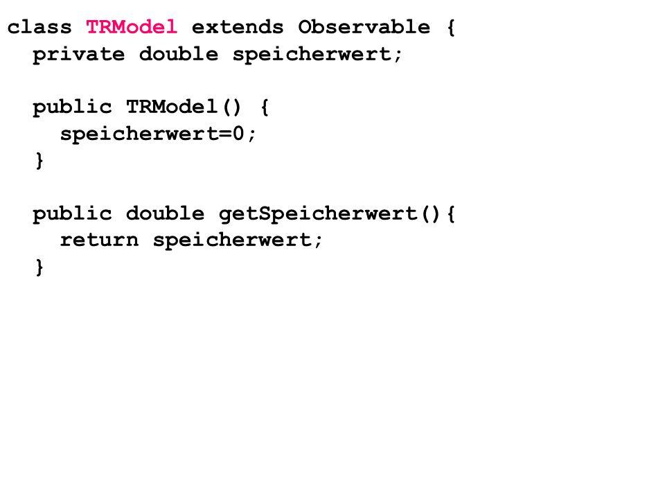 class TRModel extends Observable {