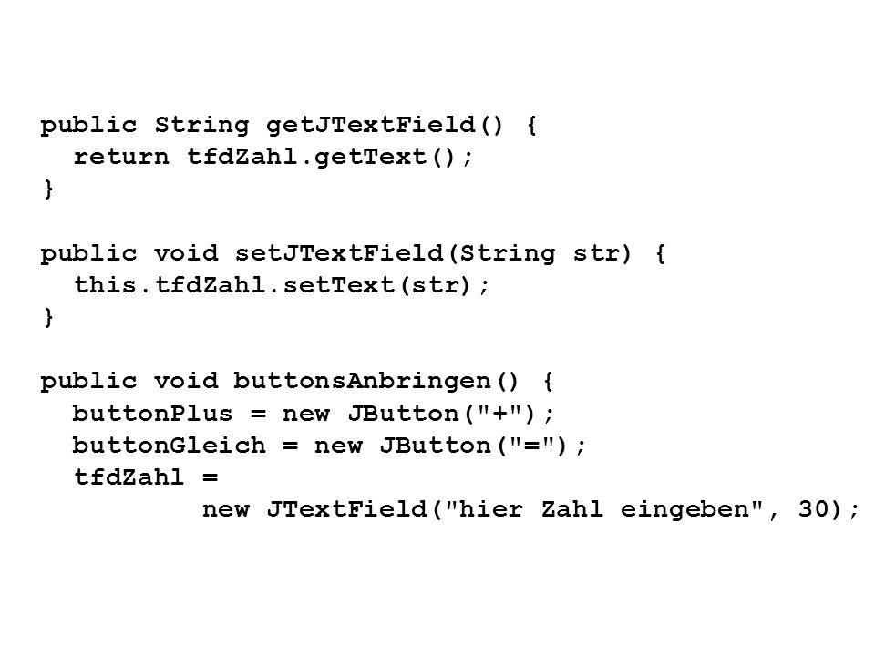 public String getJTextField() {