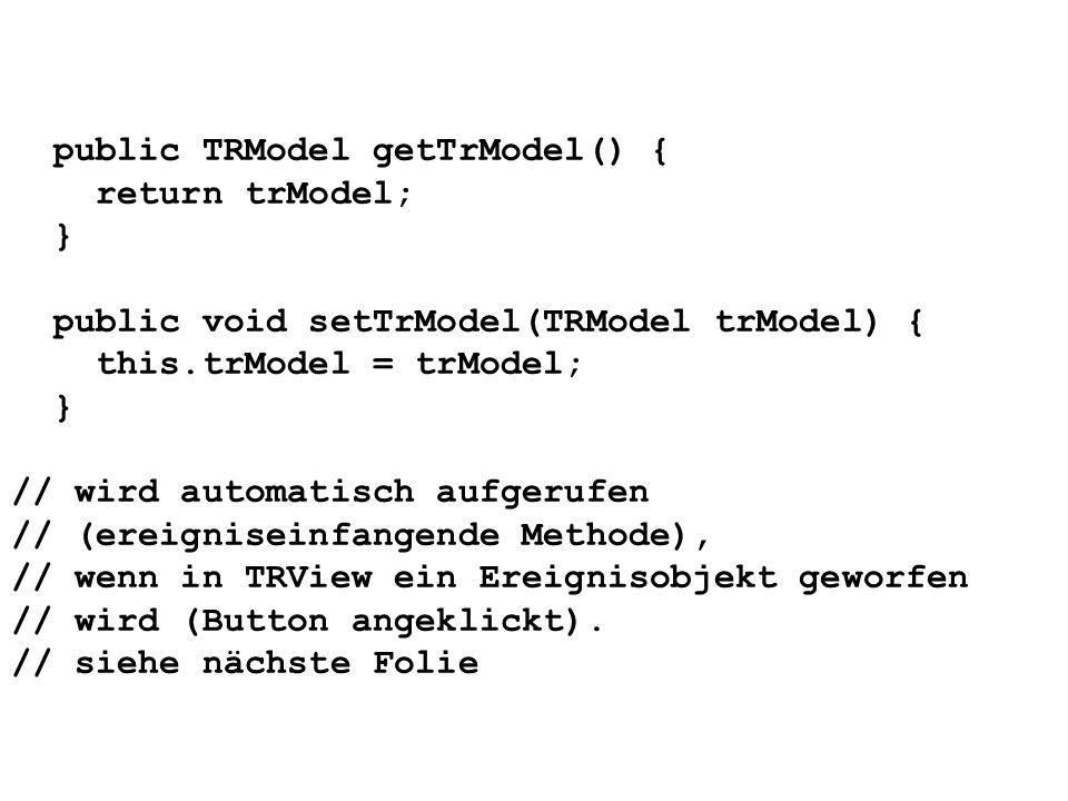 public TRModel getTrModel() {