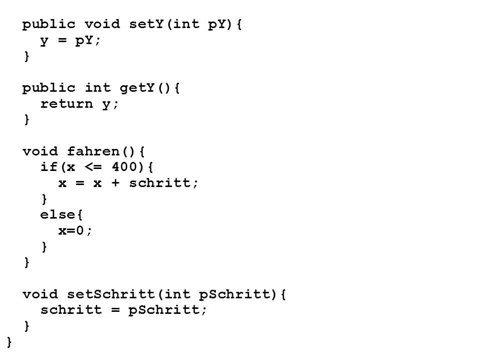 public void setY(int pY){