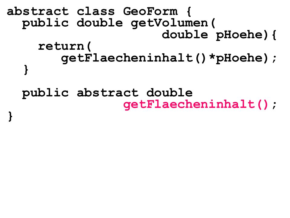 abstract class GeoForm {