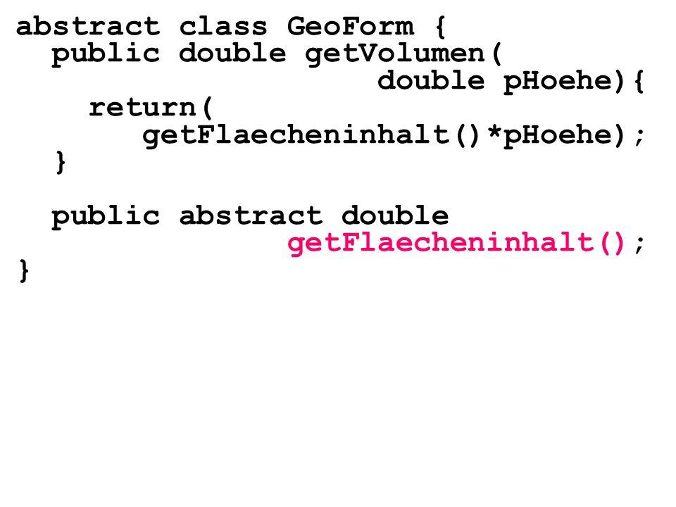 abstract class GeoForm {