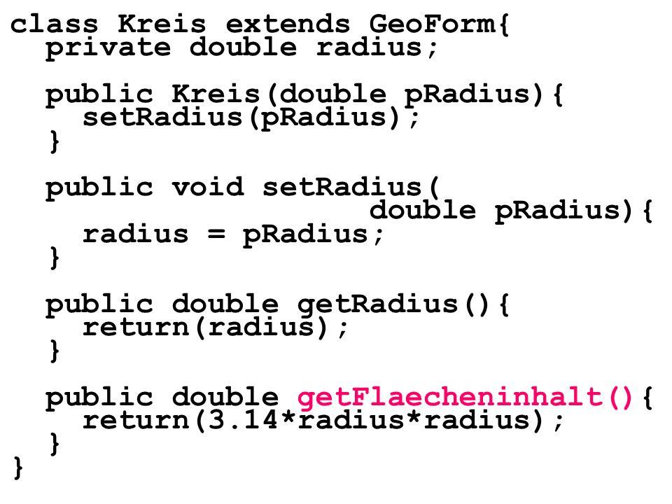 class Kreis extends GeoForm{