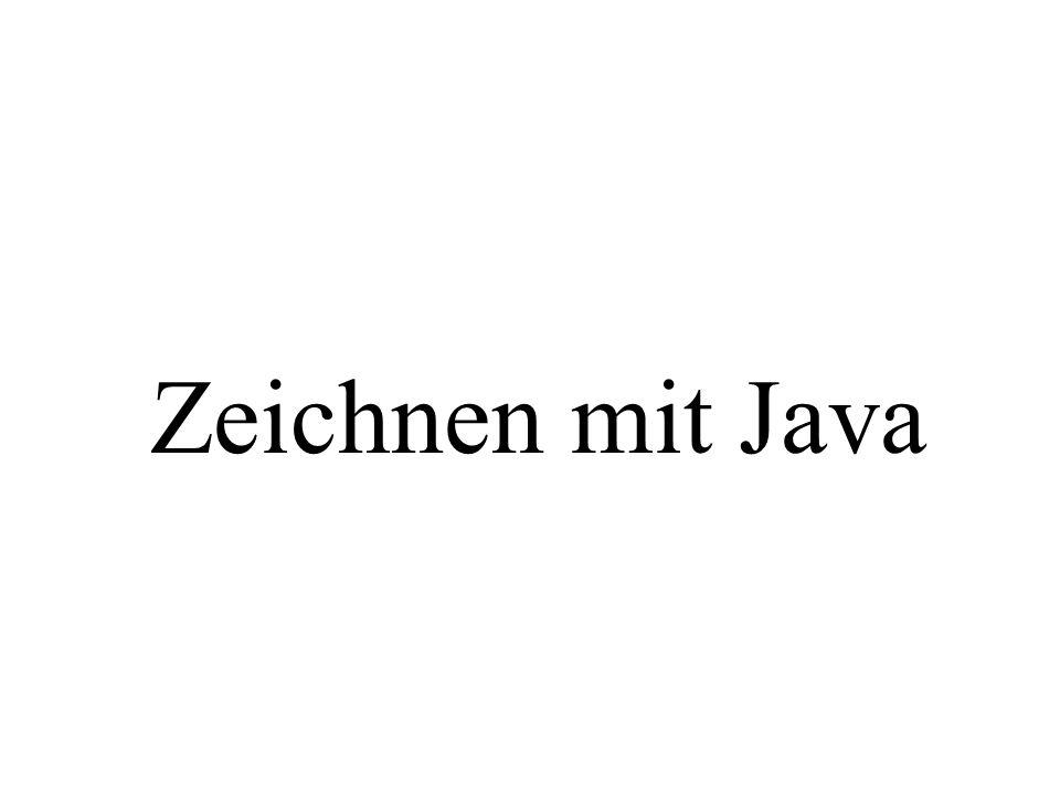 Zeichnen mit Java