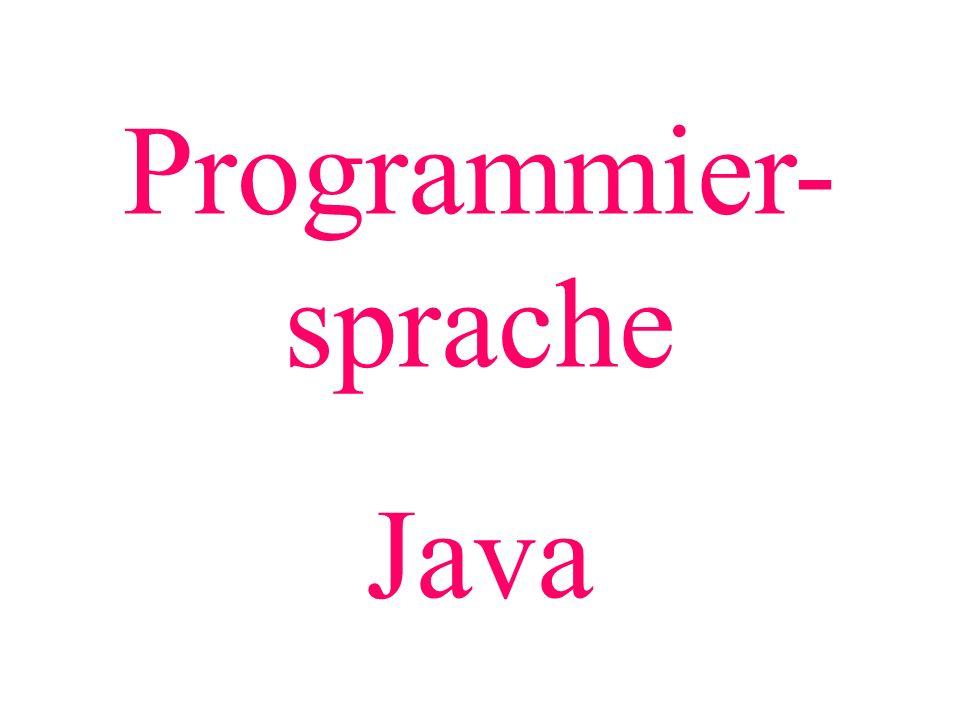 Programmier-sprache Java Weiter mit PP.
