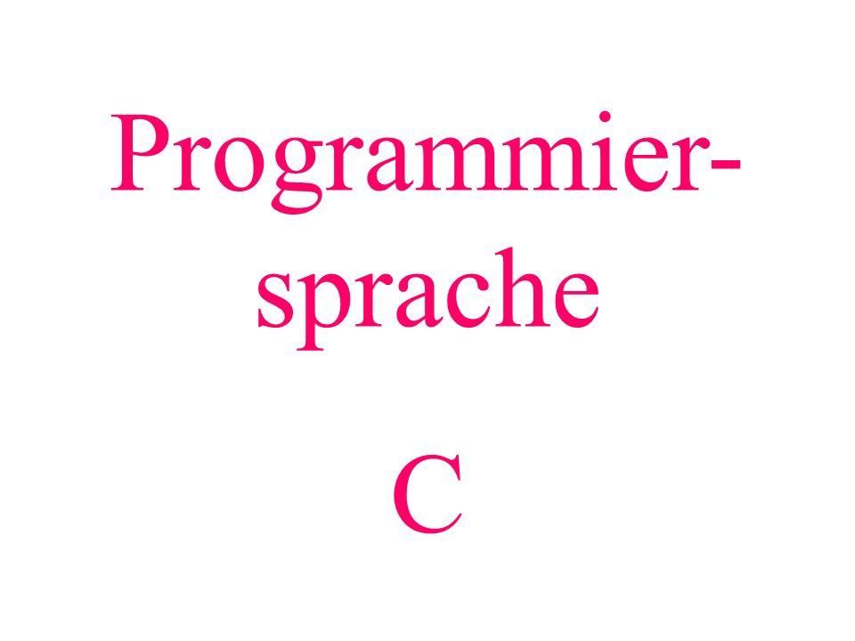 Programmier-sprache C Weiter mit PP.