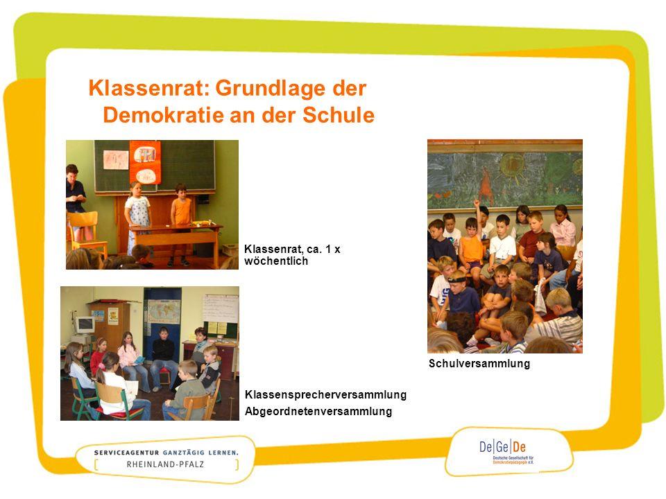 Klassenrat: Grundlage der Demokratie an der Schule