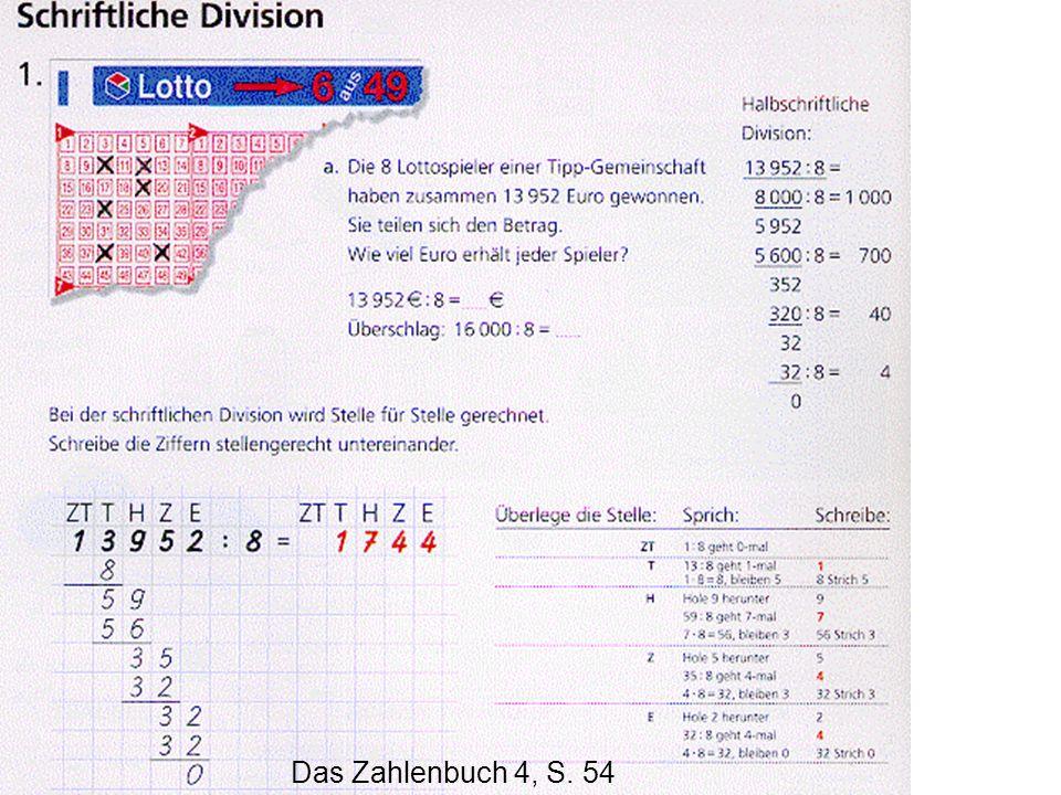 Das Zahlenbuch 4, S. 54