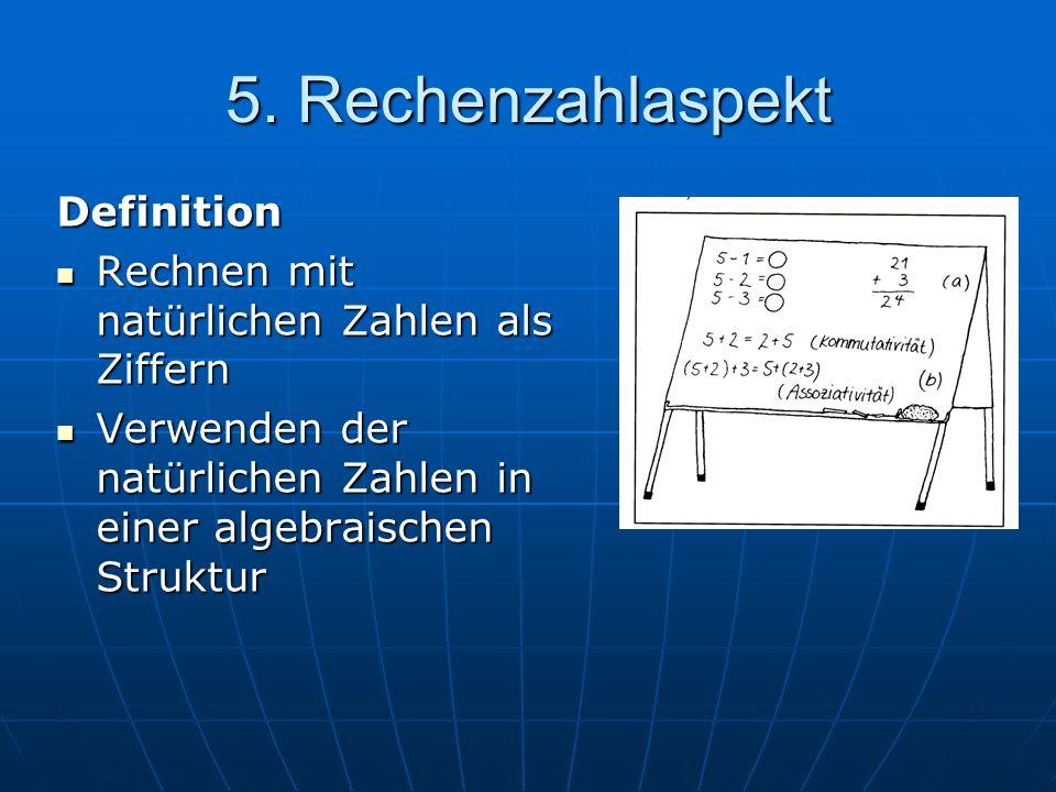 5. Rechenzahlaspekt Definition