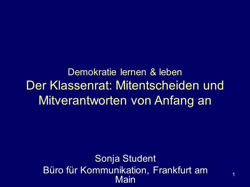 Sonja Student Büro für Kommunikation, Frankfurt am Main