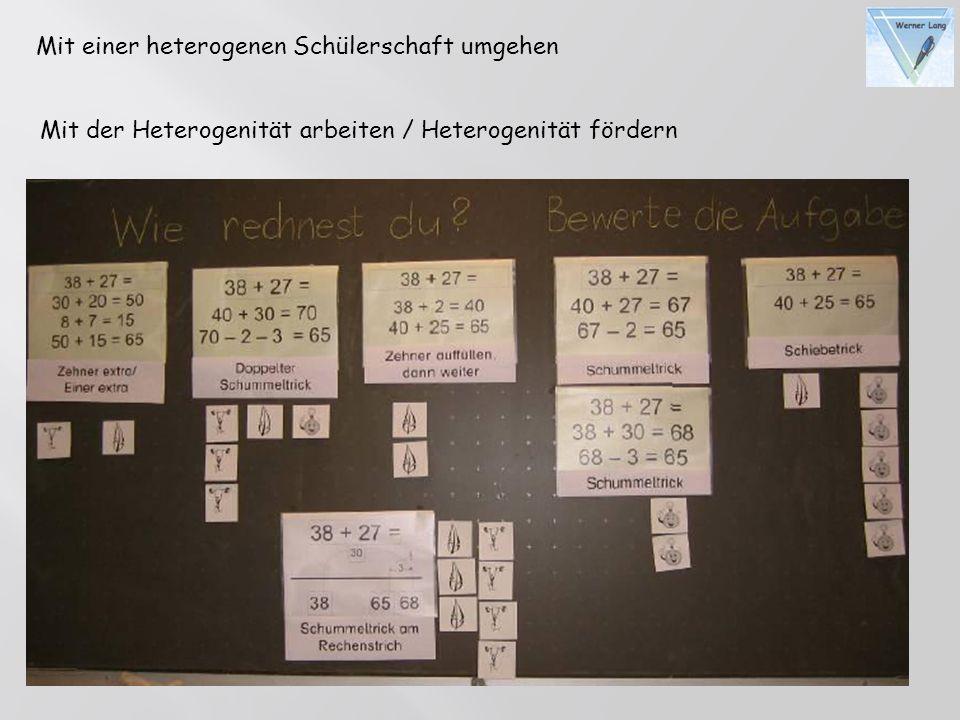 Mit einer heterogenen Schülerschaft umgehen