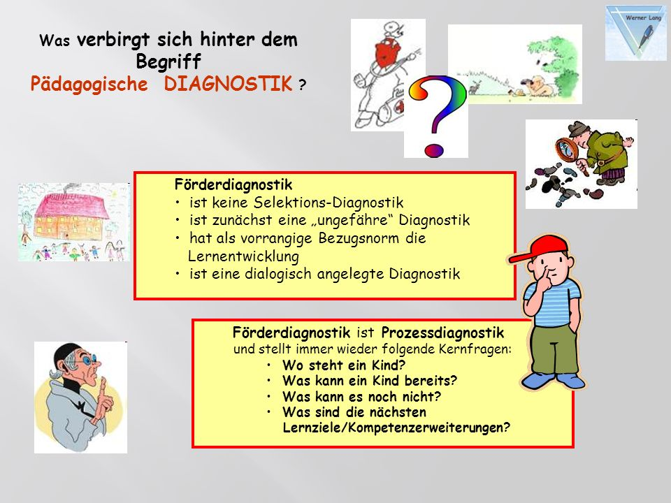 Pädagogische DIAGNOSTIK