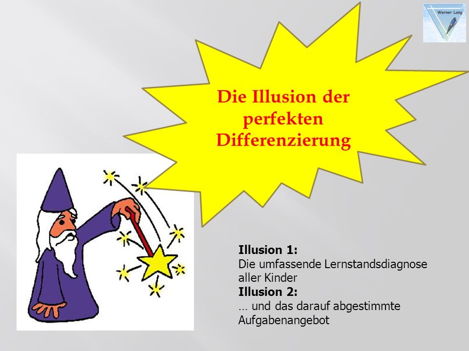 Die Illusion der perfekten Differenzierung