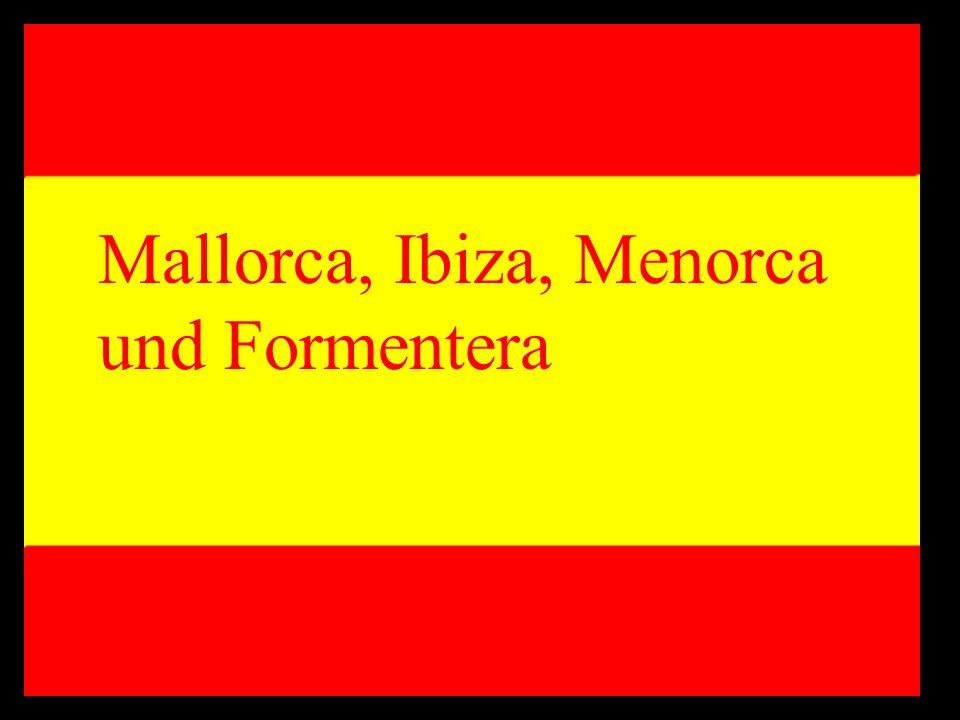Mallorca, Ibiza, Menorca und Formentera