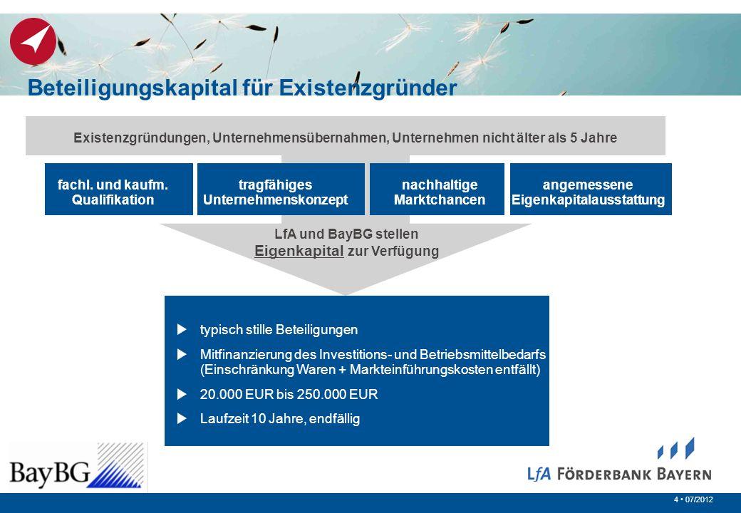 Beteiligungskapital für Existenzgründer