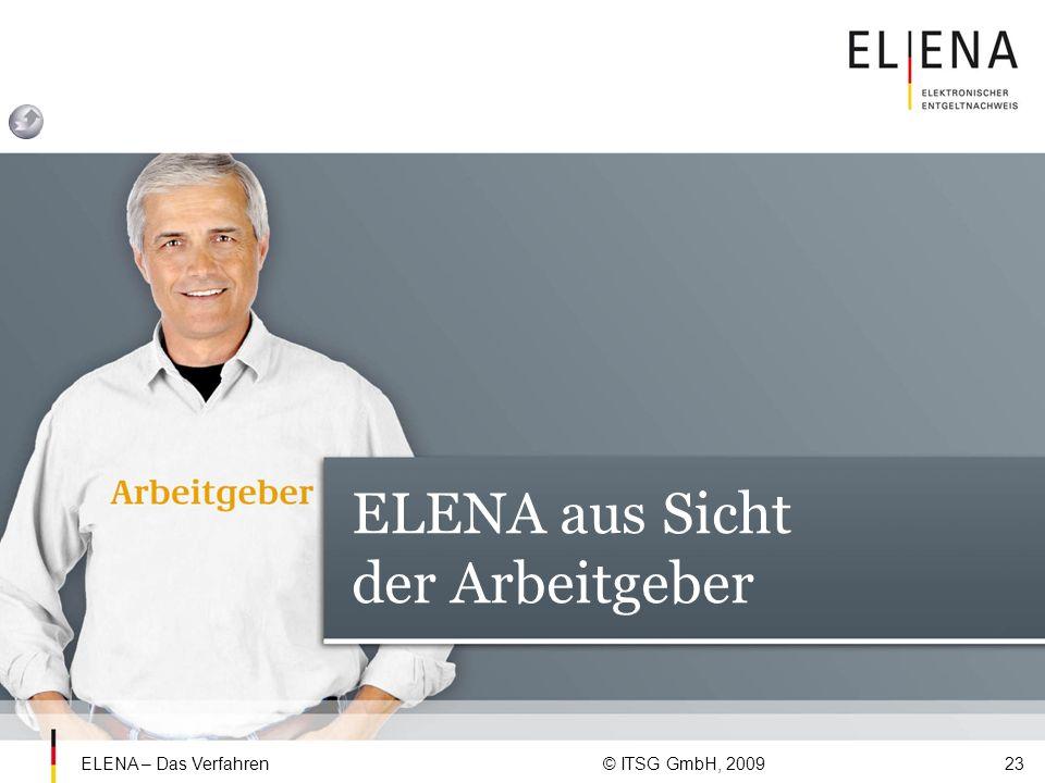 ELENA aus Sicht der Arbeitgeber