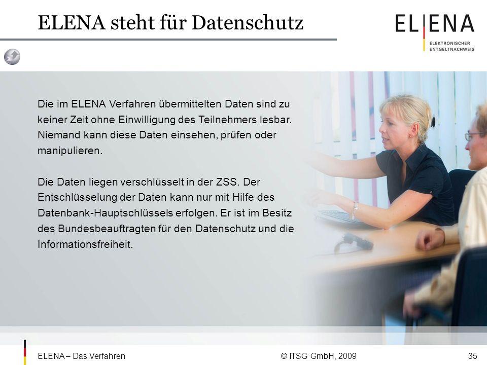ELENA steht für Datenschutz