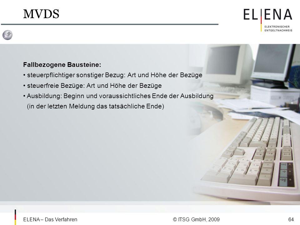 MVDS Fallbezogene Bausteine:
