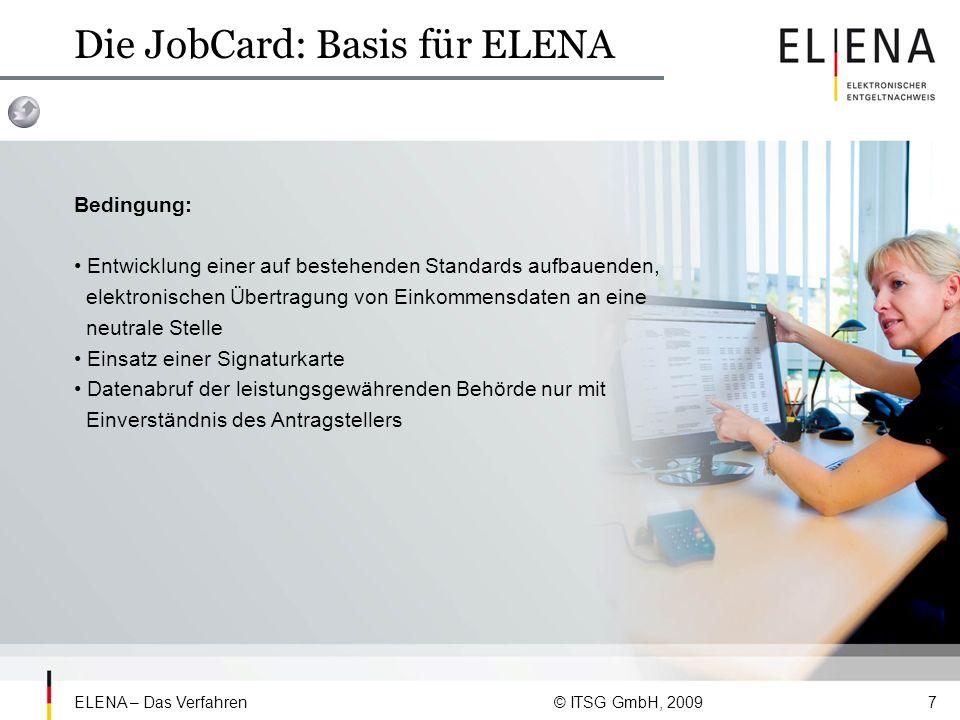 Die JobCard: Basis für ELENA