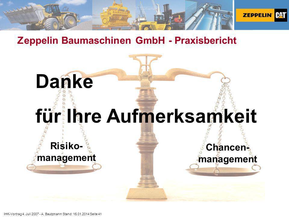 Zeppelin Baumaschinen GmbH - Praxisbericht