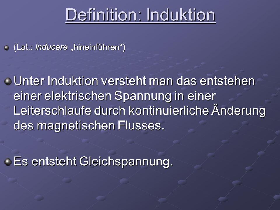 Definition: Induktion