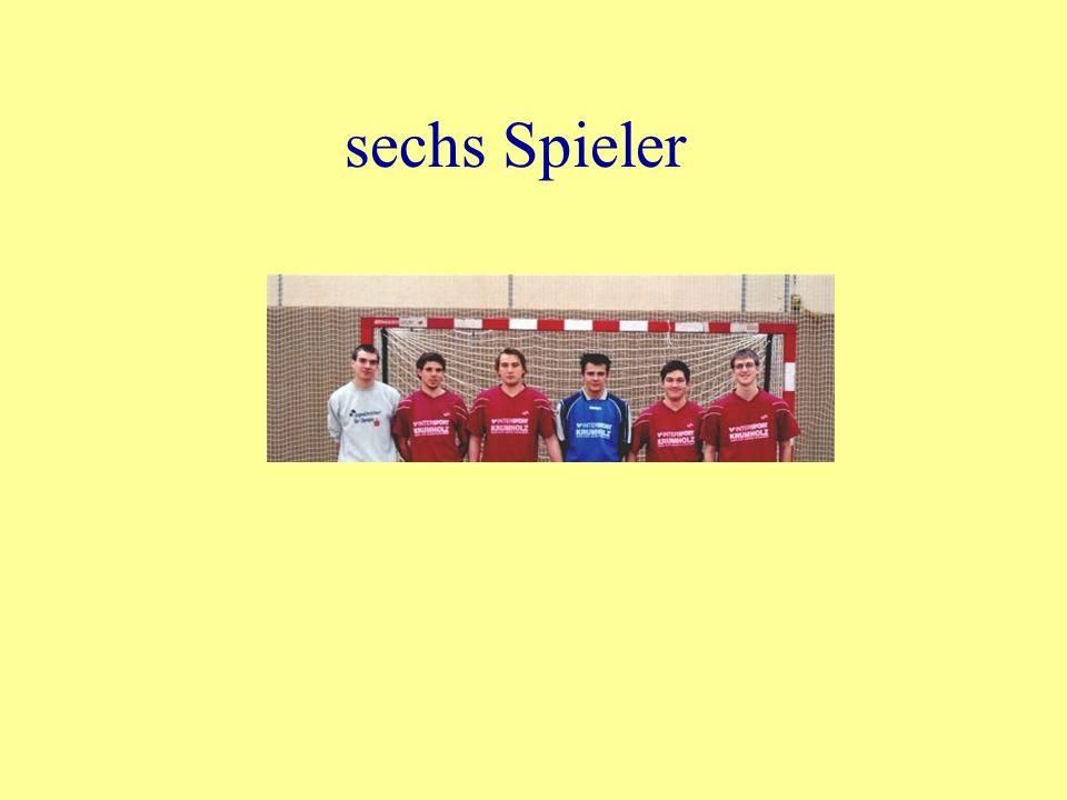 sechs Spieler