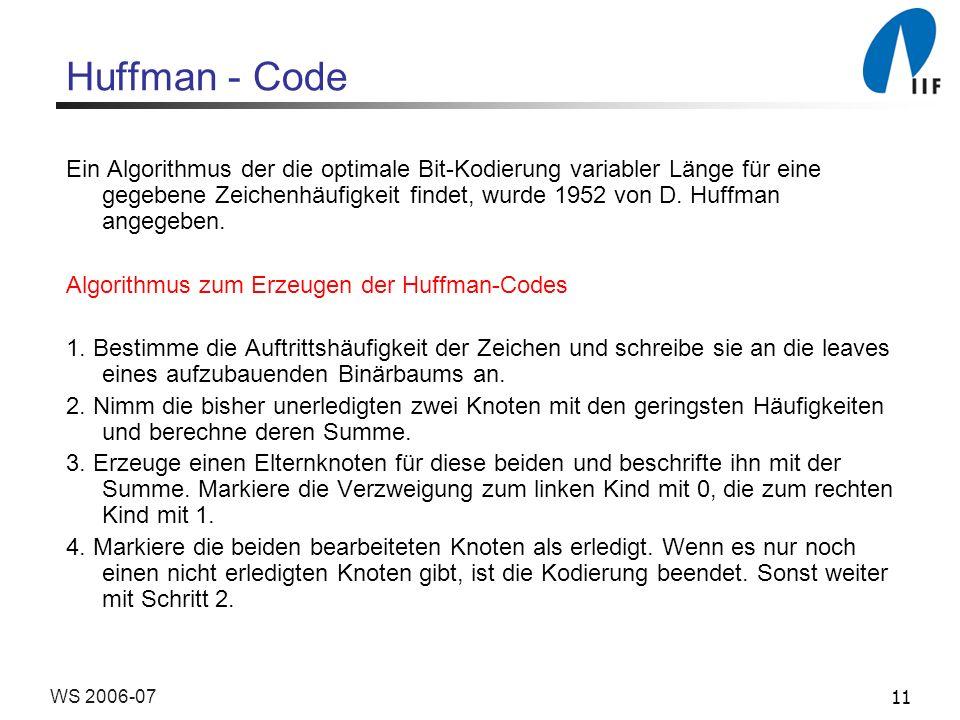 Huffman - Code