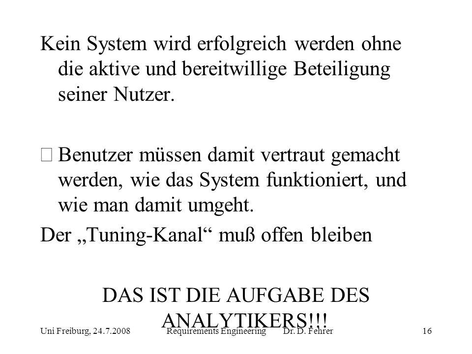"""Der """"Tuning-Kanal muß offen bleiben"""