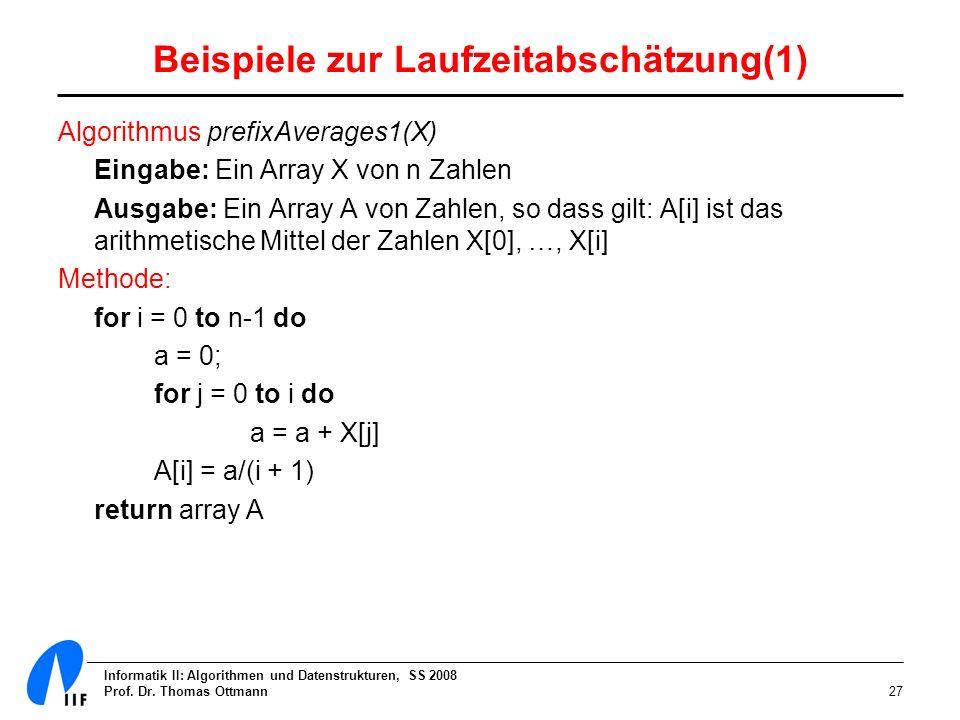 Beispiele zur Laufzeitabschätzung(1)