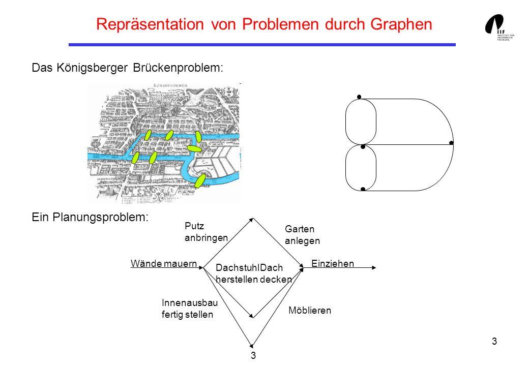Repräsentation von Problemen durch Graphen