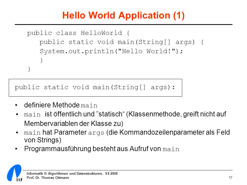 Hello World Application (1)