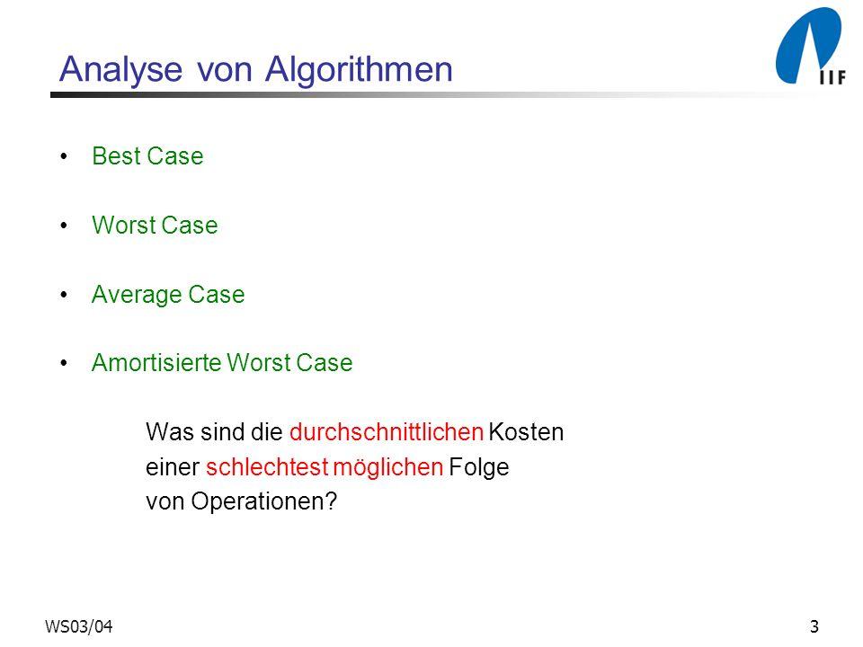Analyse von Algorithmen