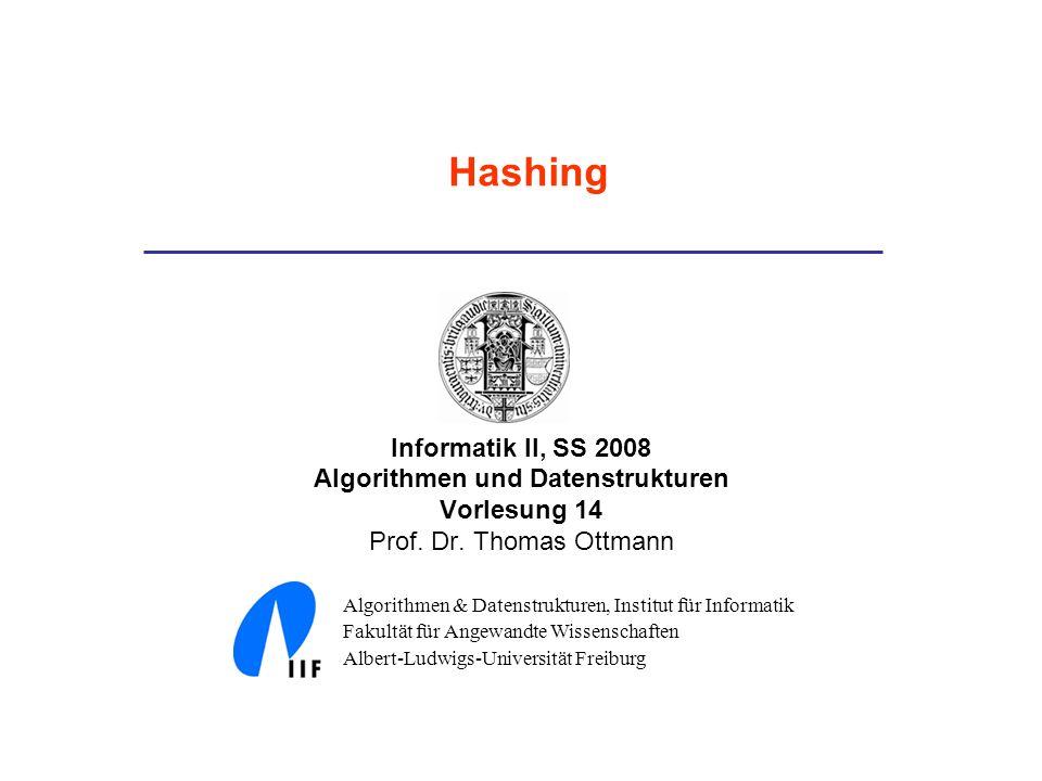 Algorithmen und Datenstrukturen